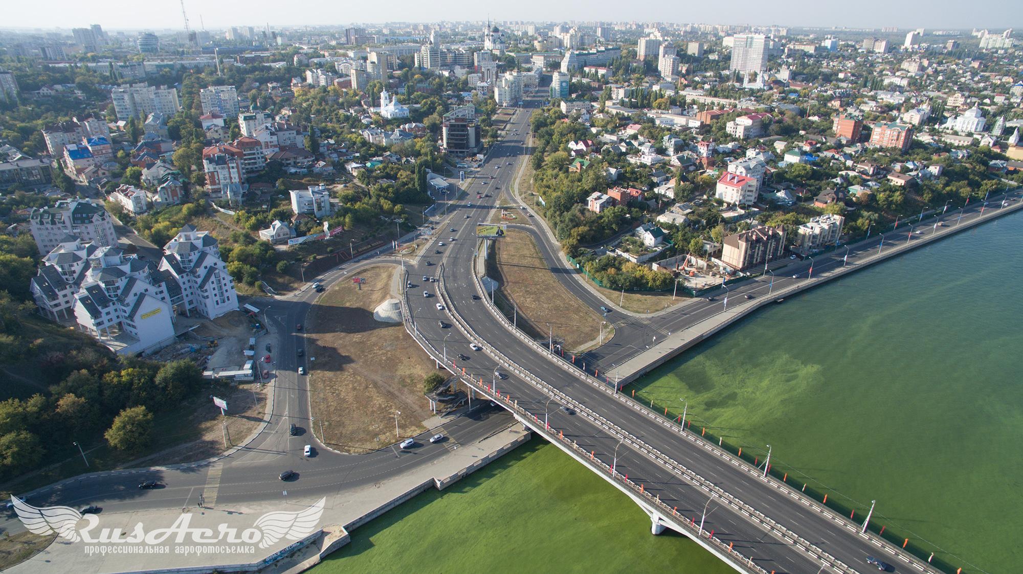 чернавский-мост-аэрофотосъемка воронеж