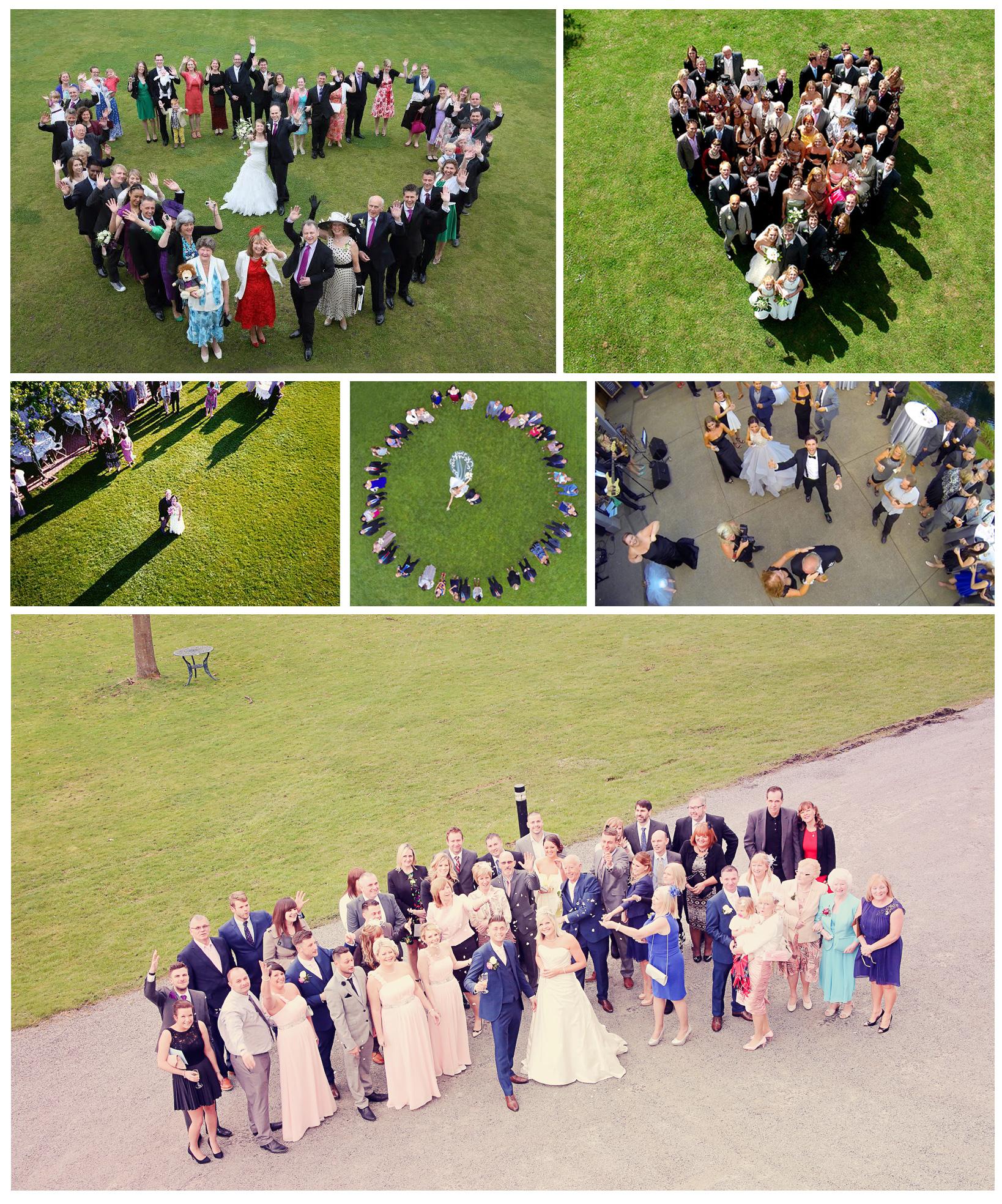 аэросъемка свадеб в Воронеже